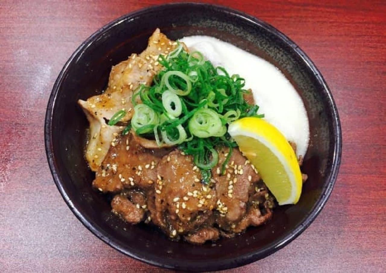 伝説のすた丼屋 仙台名掛丁店「仙台牛タン塩すた丼」