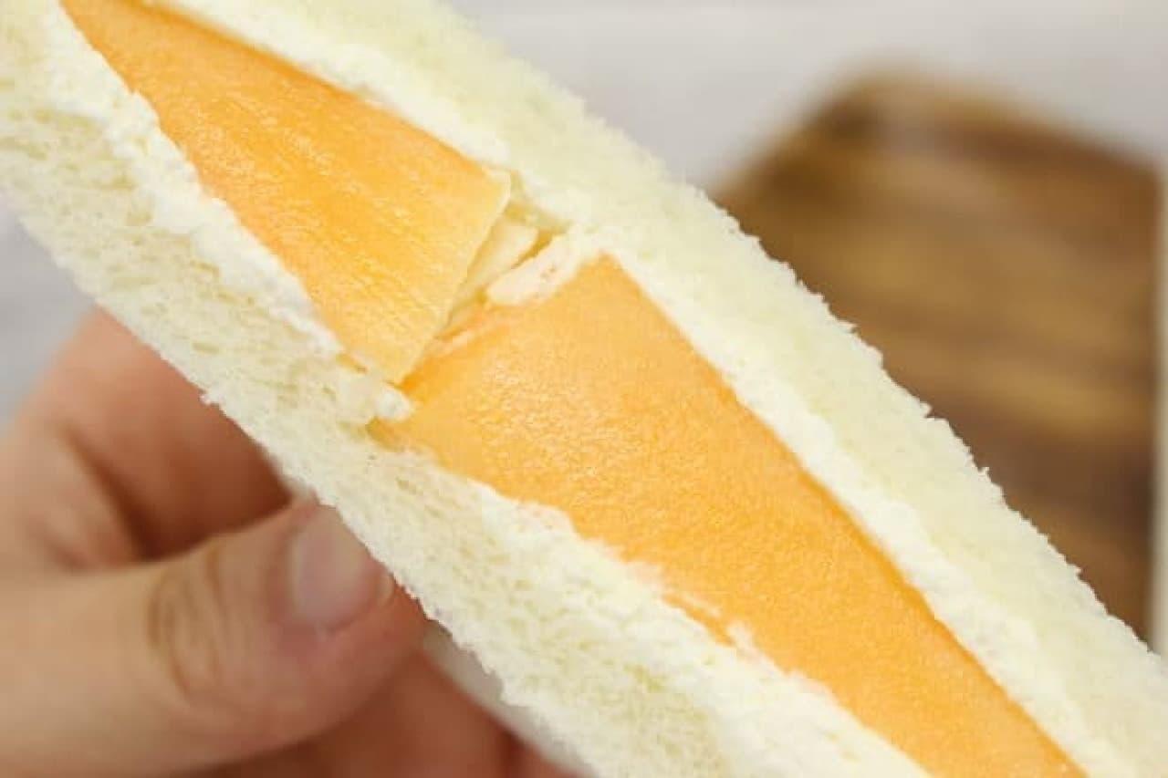 サンドイッチハウスメルヘン メロンサンド