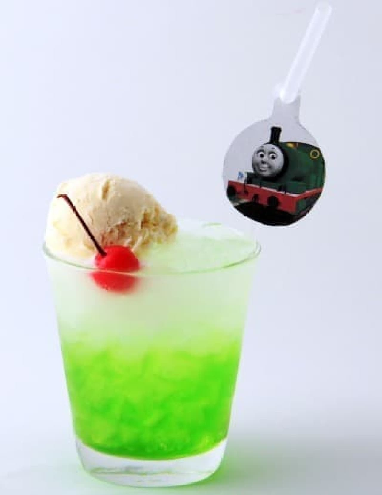 東京スカイツリー「いたずら好きパーシーのはじけるメロンソーダ♪」