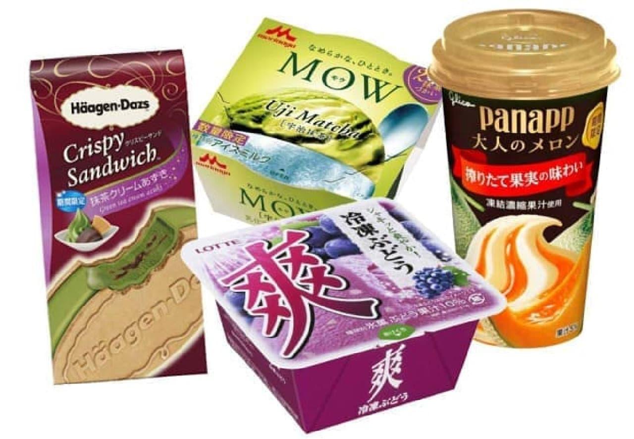 6月上旬発売・コンビニで手に入るアイス新商品まとめ