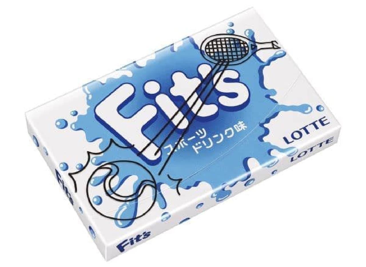 """Fit's スポーツドリンク味は、スポーツドリンクを飲んでいるかのような""""じゅるりとした味わい""""のチューインガム"""