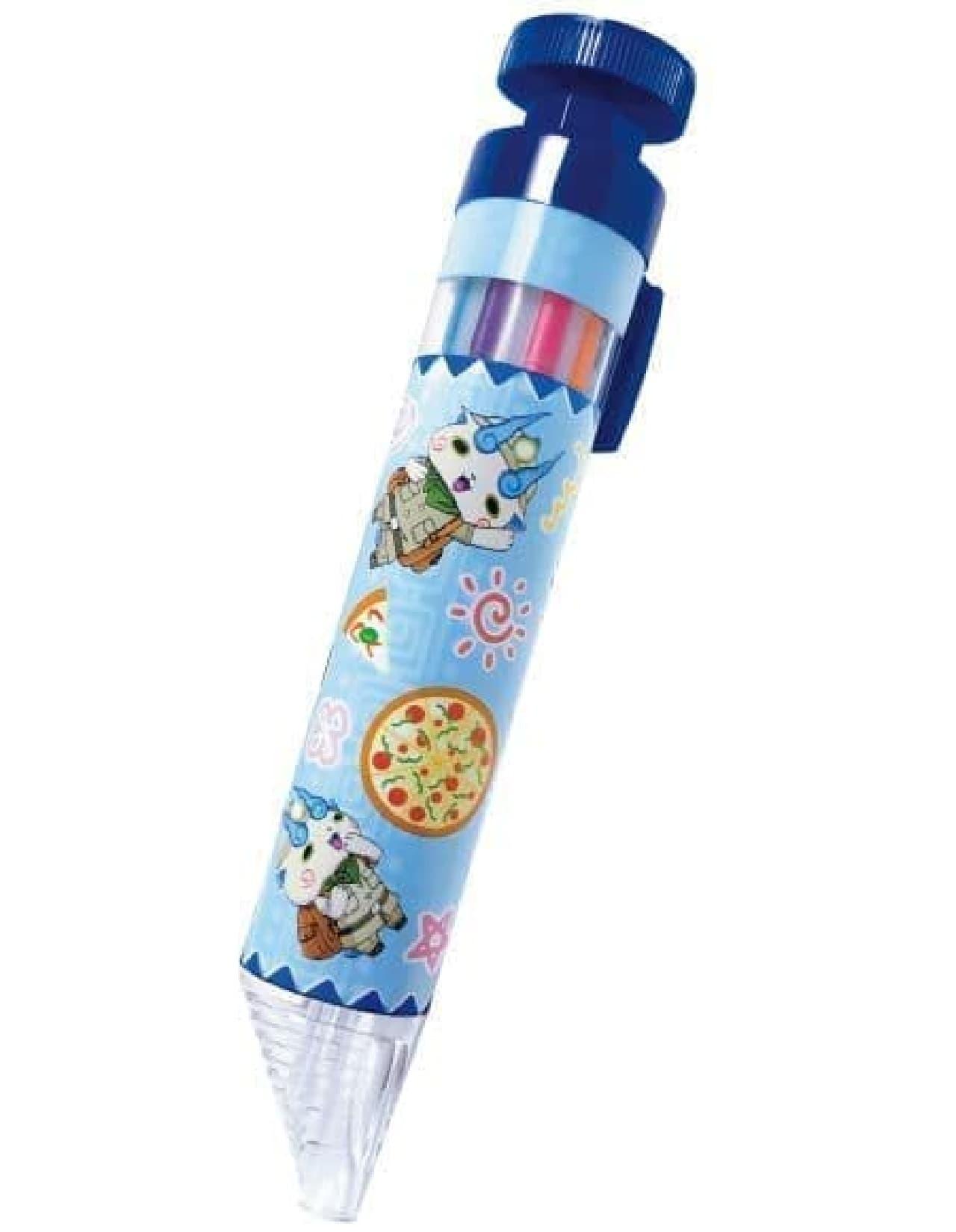「妖怪ウォッチスペシャルパック」はお好みのM・Lサイズのピザにプラス200円で妖怪ウォッチオリジナルグッズが付くパック