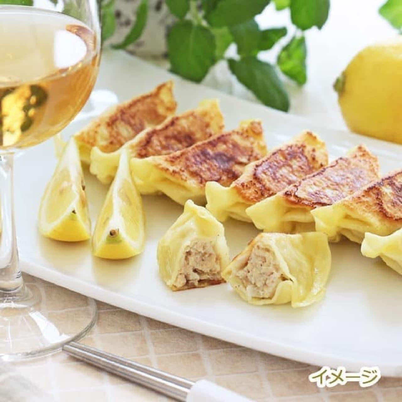カルディ「レモン入り餃子」