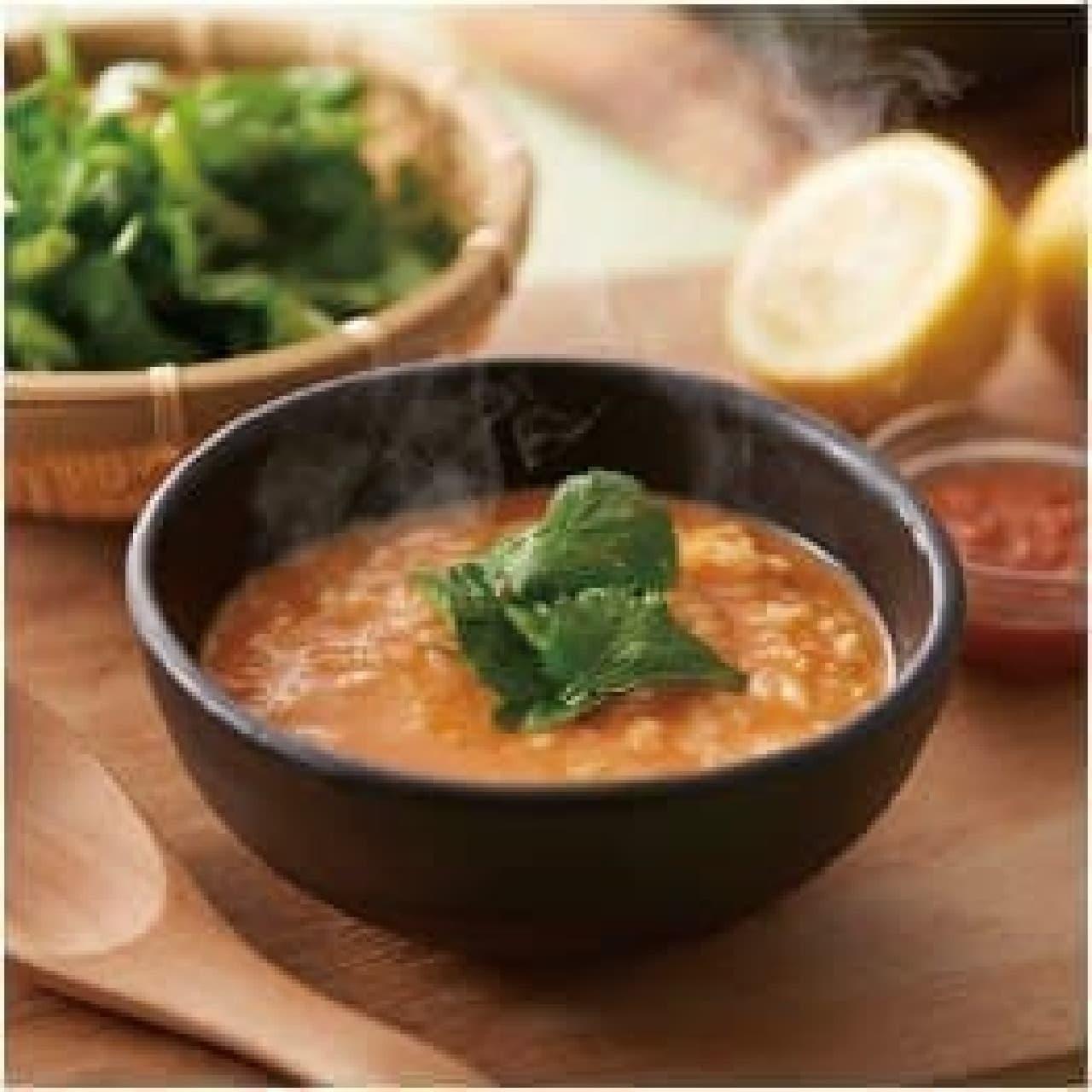 しゃぶしゃぶ温野菜「トムヤムクンでラムとパクチー」
