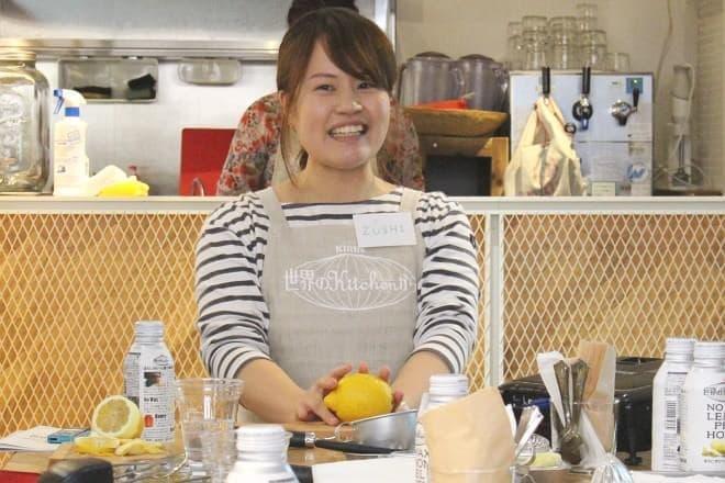 キリン 世界のKitchenから ほろにがピール漬け蜂蜜レモン開発者