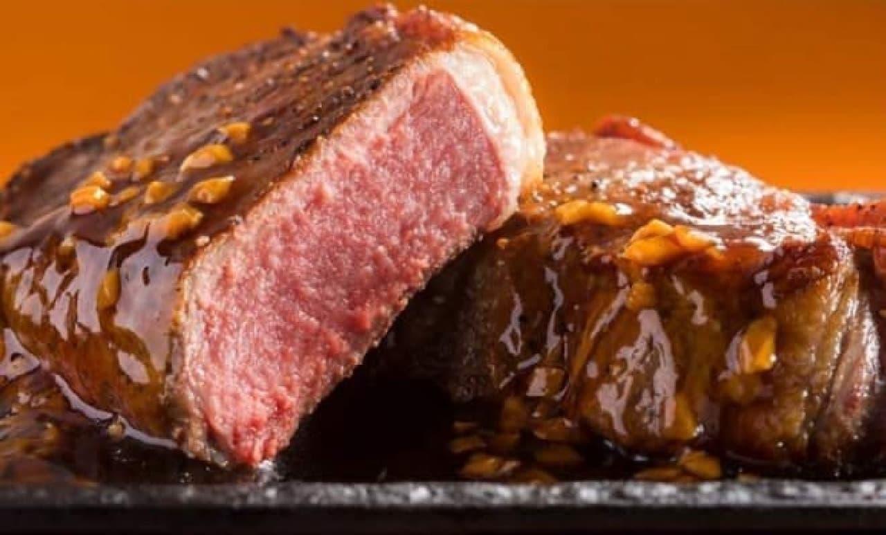 ステーキガスト「厚切りサーロインステーキ」フェア