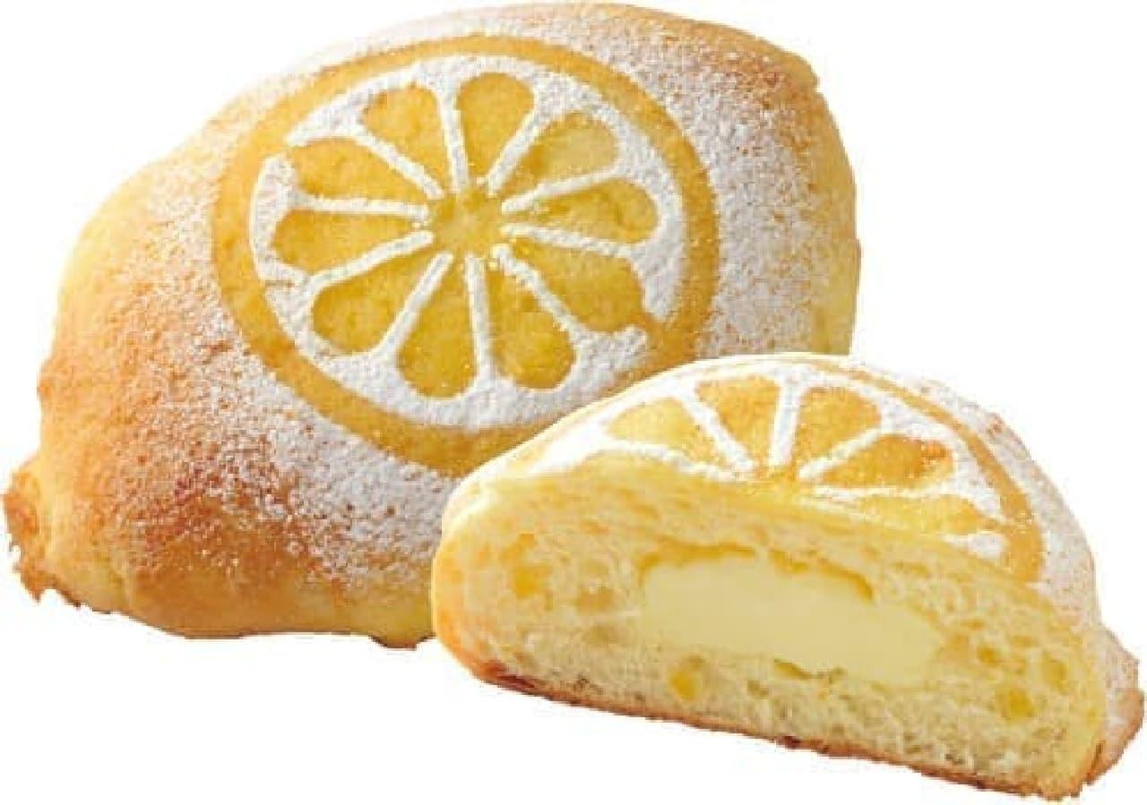 ホクオウ「瀬戸内レモンのクリームパン」