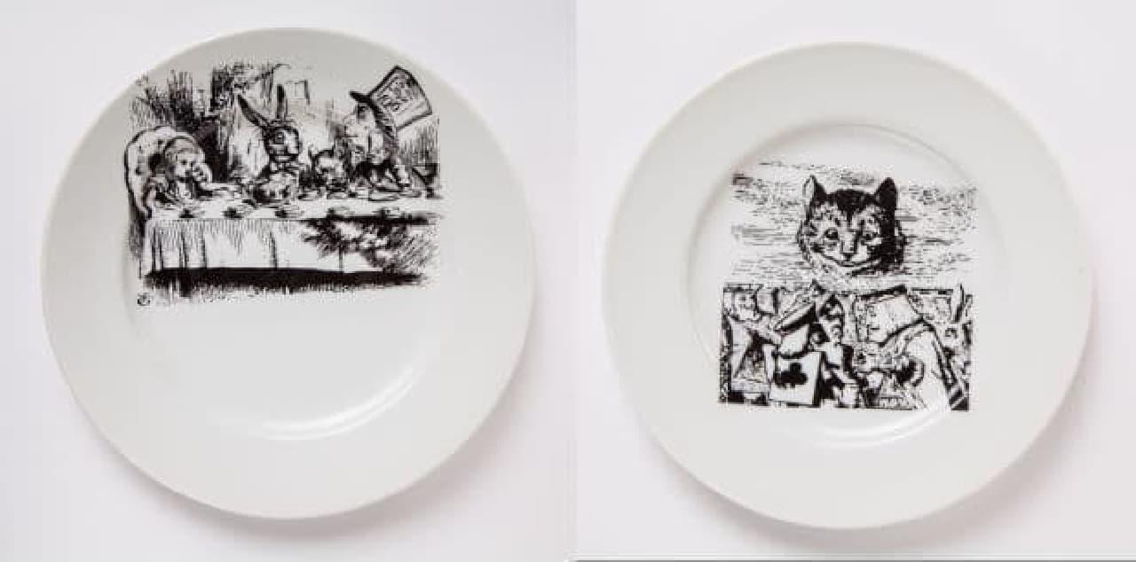 「アリスのファンタジーレストラン」は、「不思議の国のアリス」がテーマになったレストラン