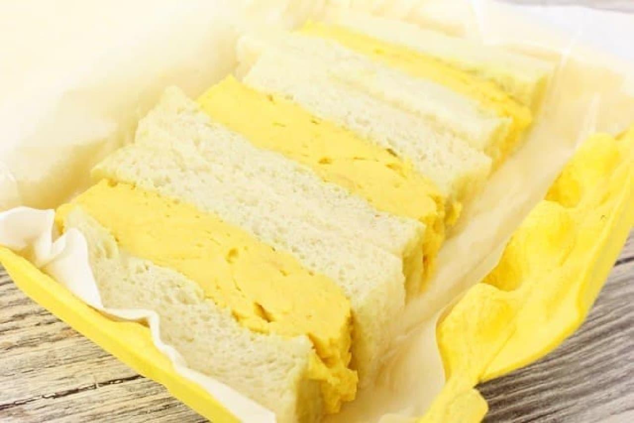 俺のBakery&Cafe「厚焼きたまごのサンドイッチ」