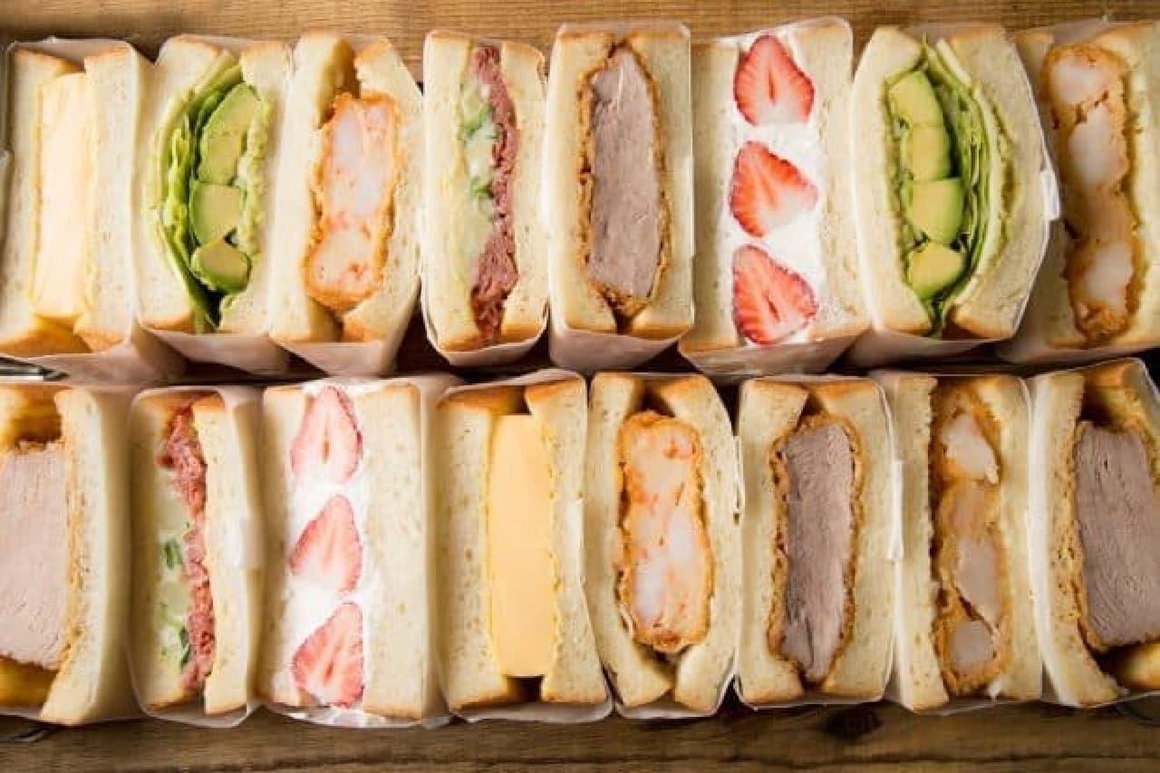 nicowich(ニコウィッチ)「2個で1セットの選べるごちそうサンドイッチ」