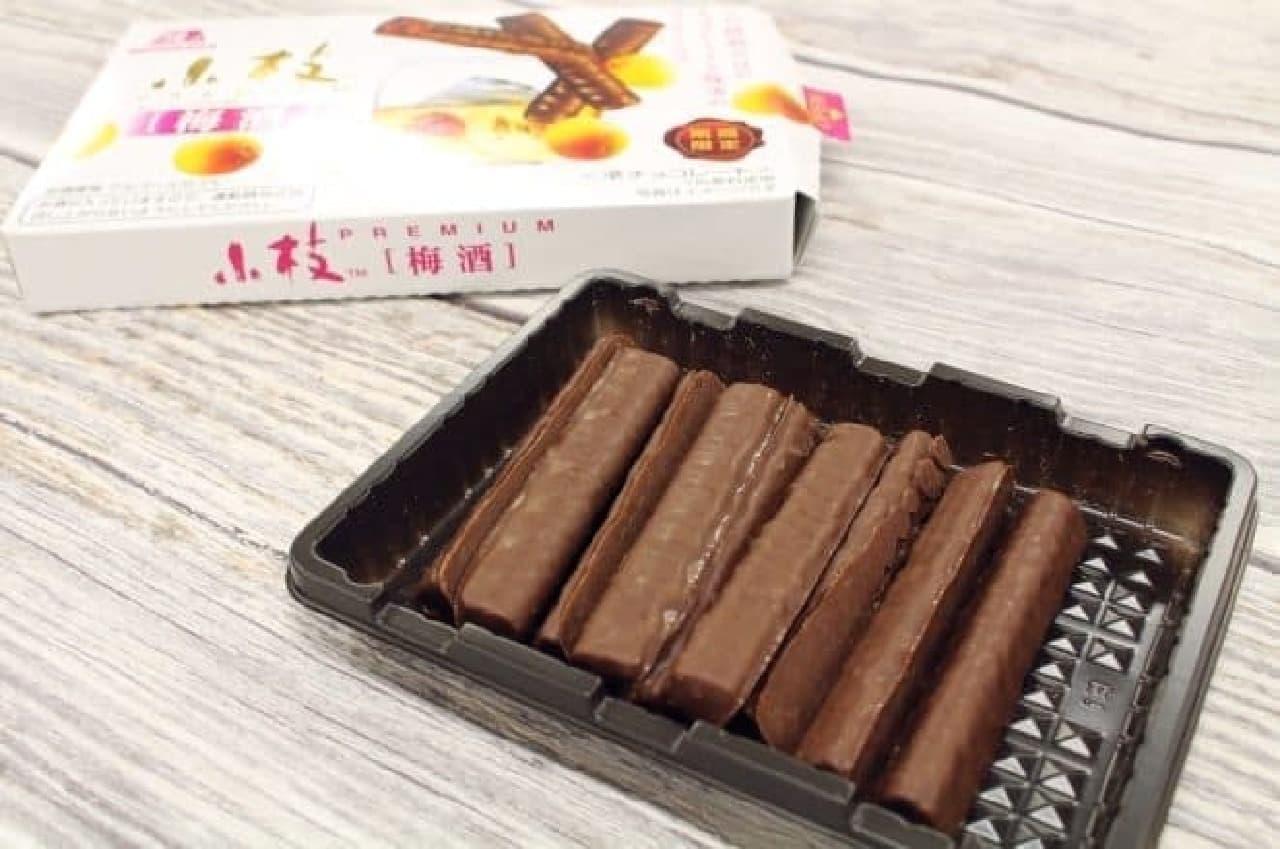 森永製菓「小枝プレミアム<梅酒>」