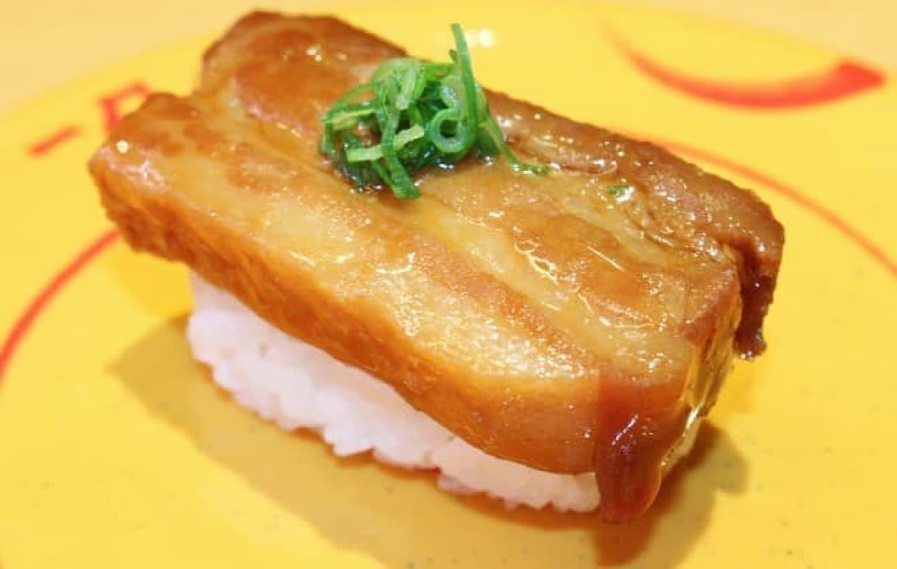 スシロー「豚角煮」