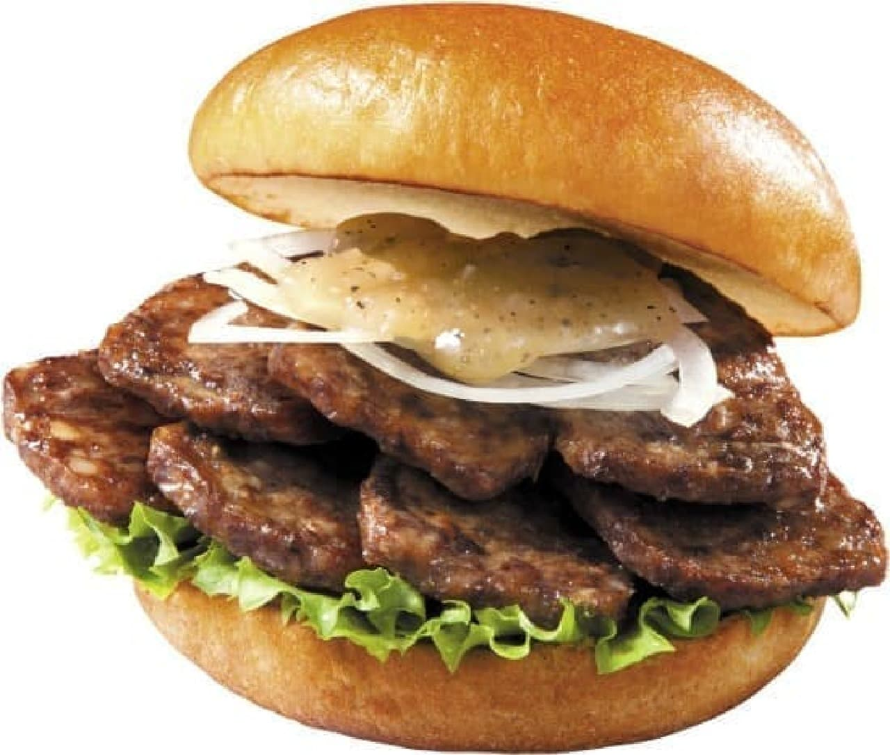 ロッテリア「やわらか焼肉バーガー」