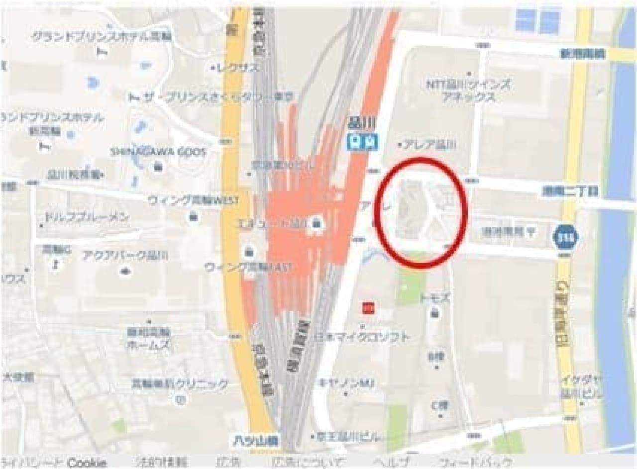 品川駅でアイス無料配布
