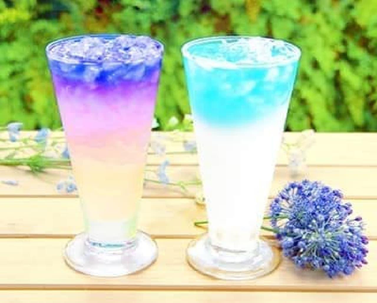 「バタフライピー」は、タイ原産のお茶の花を使用したハーブティー
