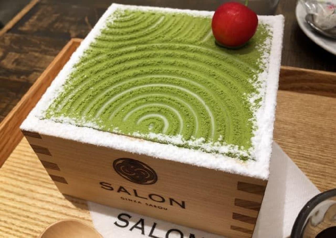 サロンギンザサボウ「茶房パフェ -日本庭園風-」
