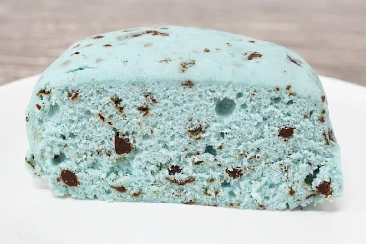 Pasco「チョコミント蒸しケーキ」