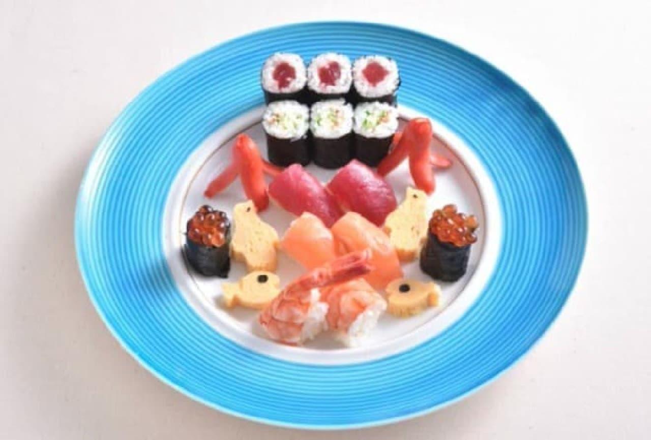 築地玉寿司 お寿司の水族館