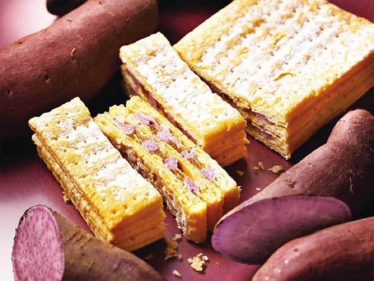 パブロ「チーズミルフィーユ-紅芋」
