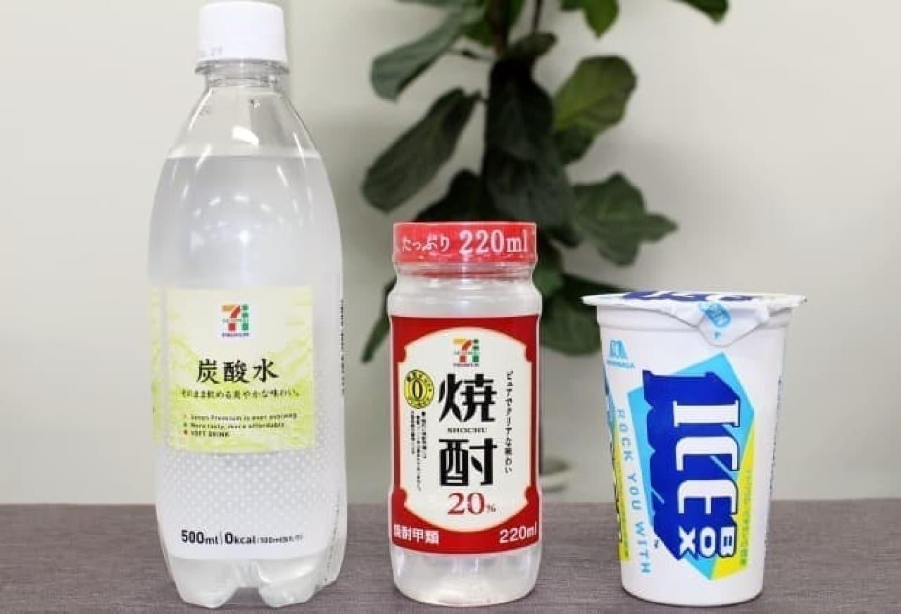ICEBOX×焼酎×炭酸水