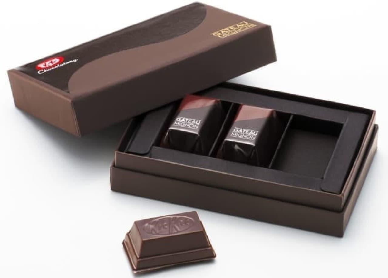 キットカット ショコラトリー銀座本店「キットカット ショコラトリー ガトーミニョン」