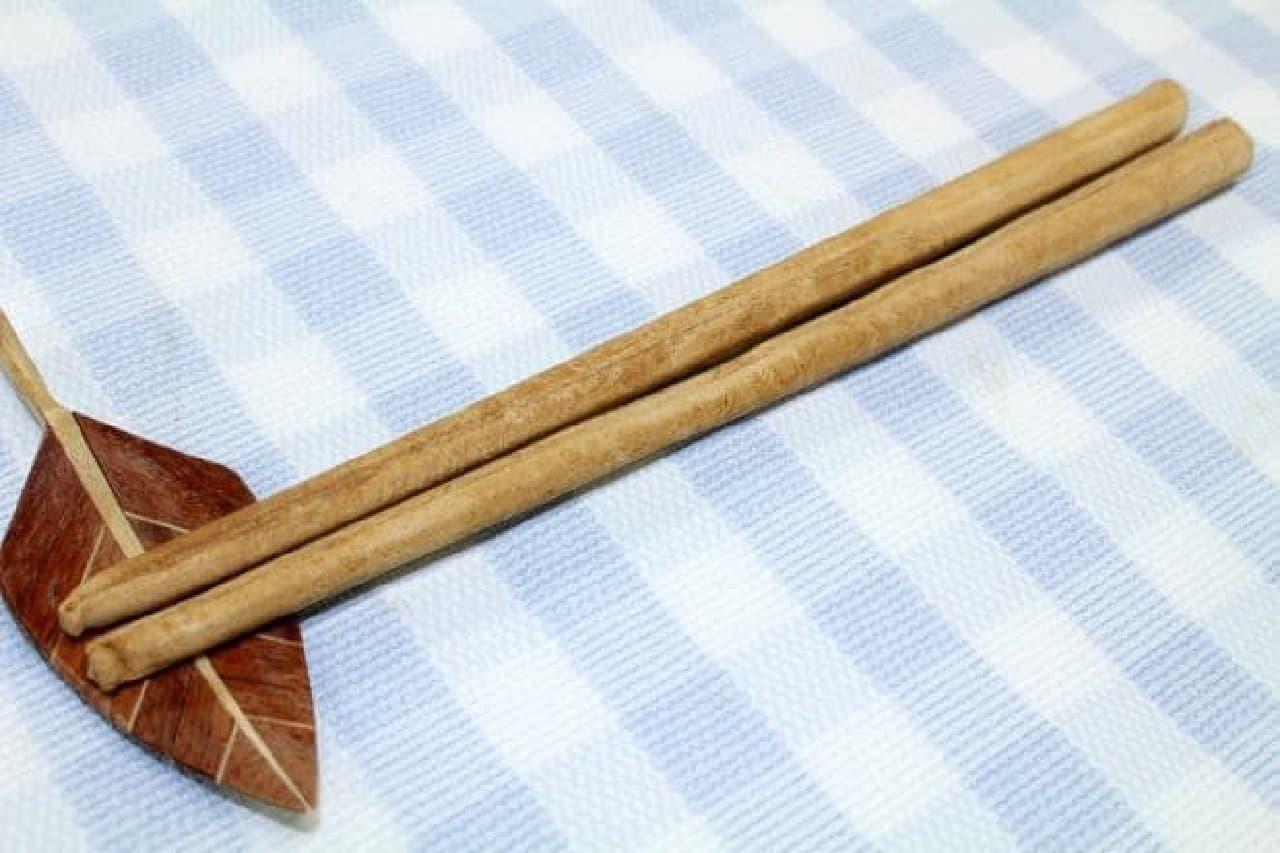 食べられるお箸(畳味)