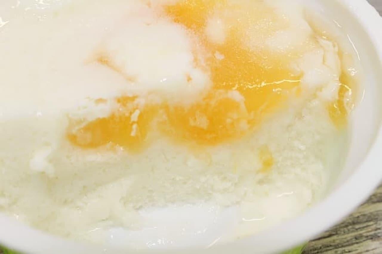 セブン-イレブン「メロンヨーグルト味氷」