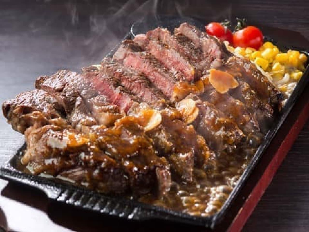 甘太郎で「肉食トライアスロン」