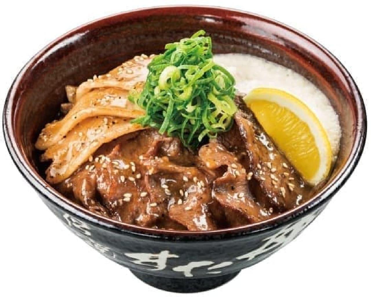 伝説のすた丼屋と名物すた丼の店の「仙台牛タン塩すた丼」