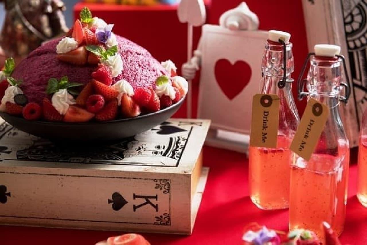 ヒルトン大阪「デザートブッフェ ~アリスからの招待状~」