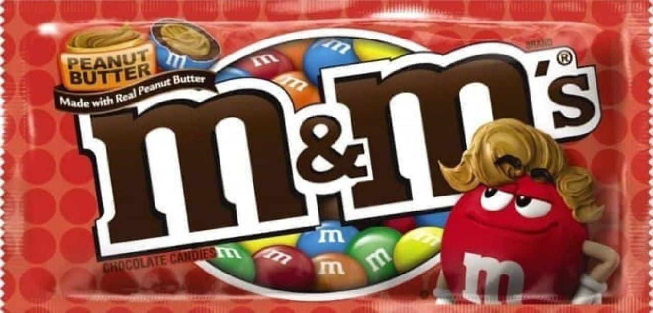 M&M'S「ピーナッツバター シングル」