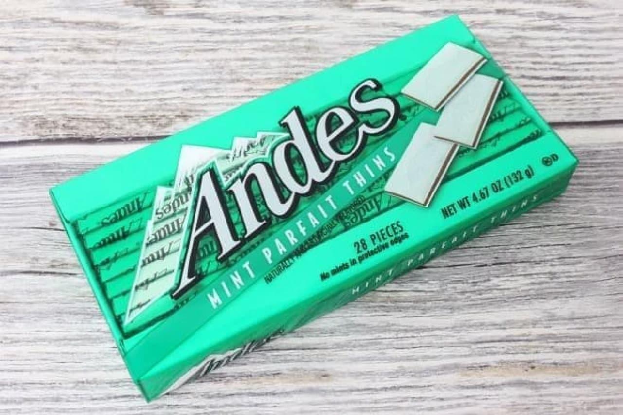 アンデス「ミントパフェ シン」