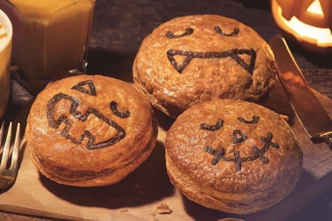 """オーストラリア発祥のパイ専門店「パイフェイス」各店で、""""Happy Halloween Pie face""""がテーマの新作パイ3種が発売される"""