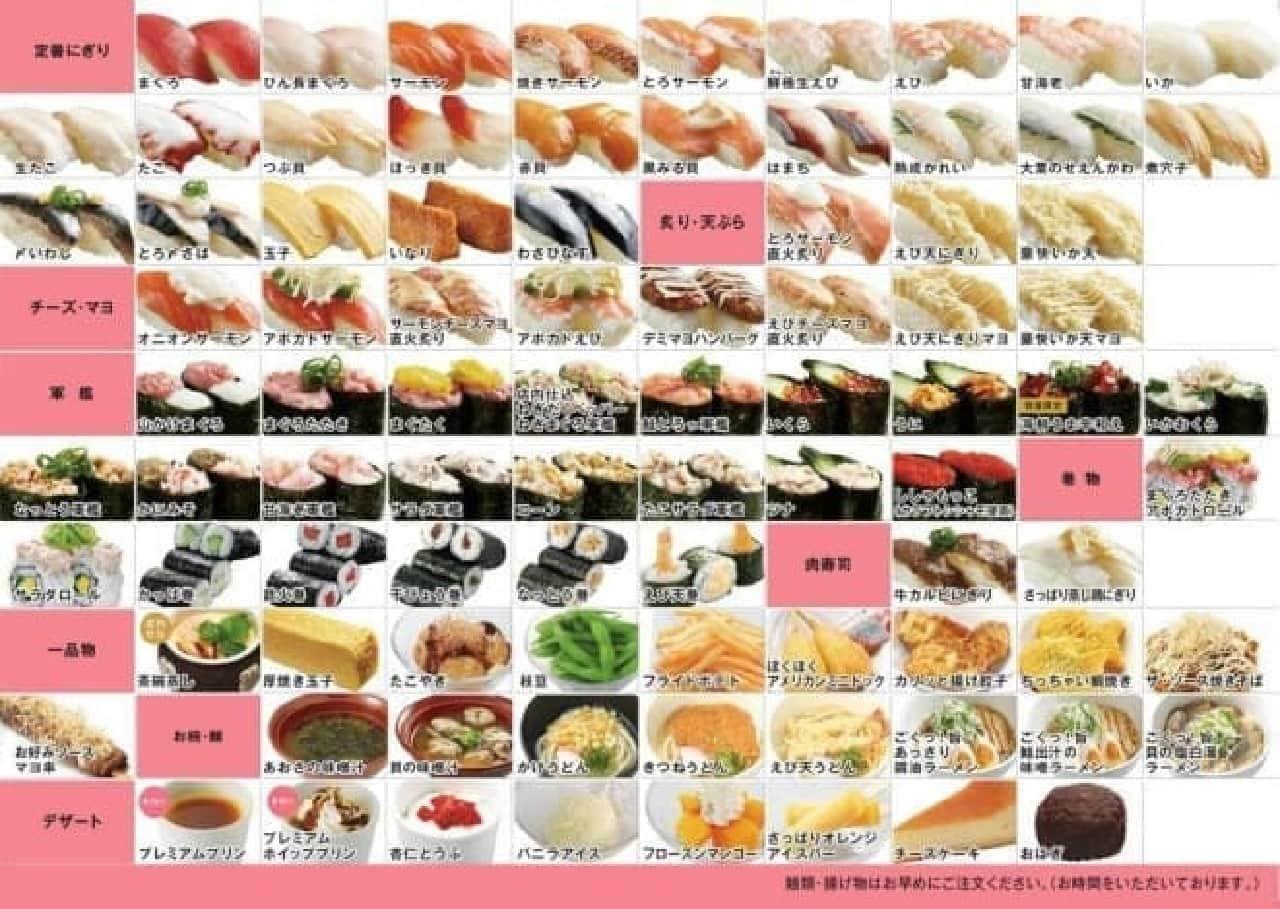 かっぱ寿司で「新・食べ放題」がスタート