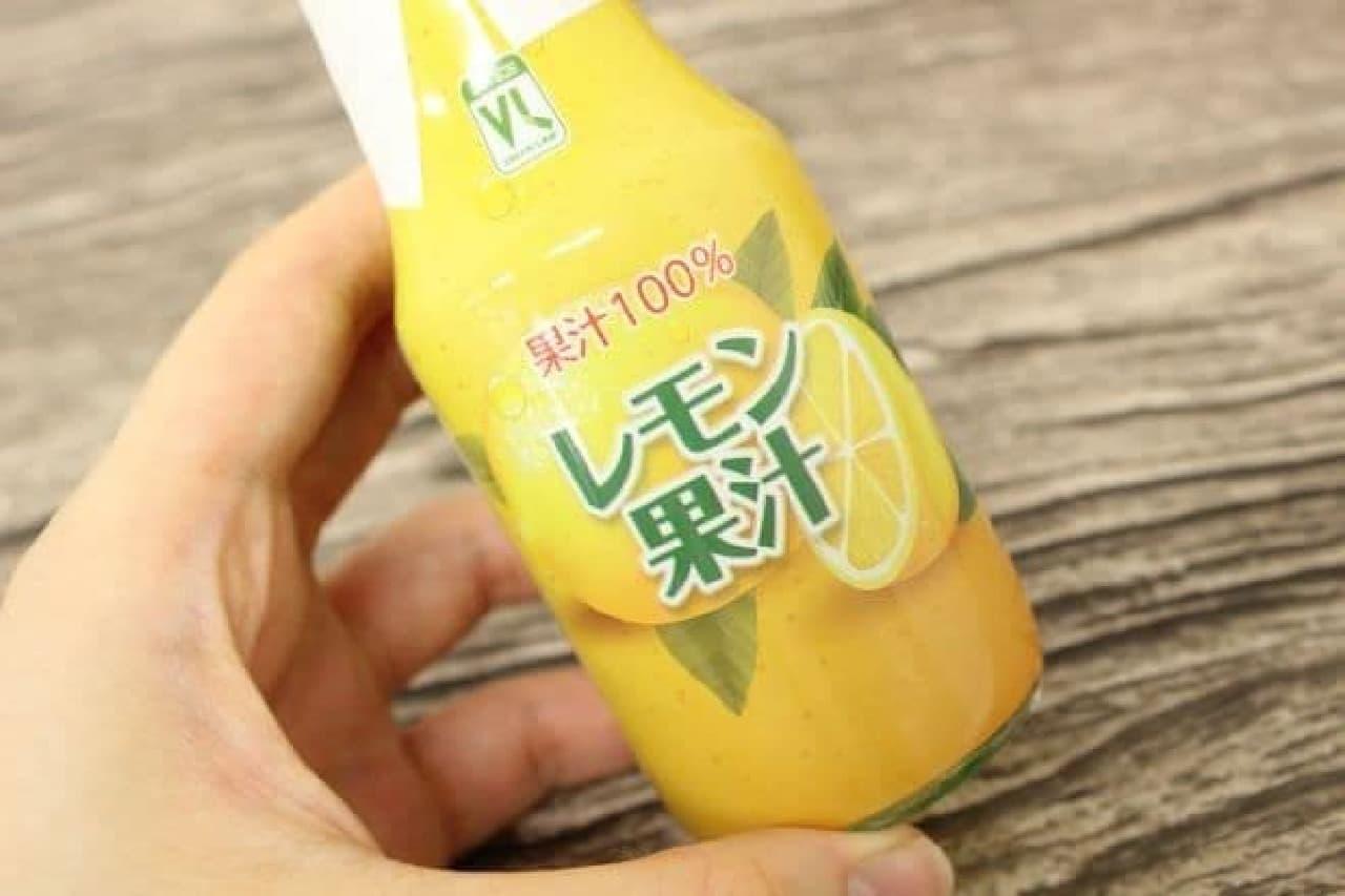 バニラアイスにかけてみたレモン果汁