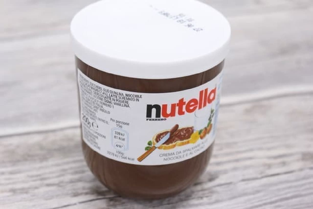 イタリアのnutella ヌテラ