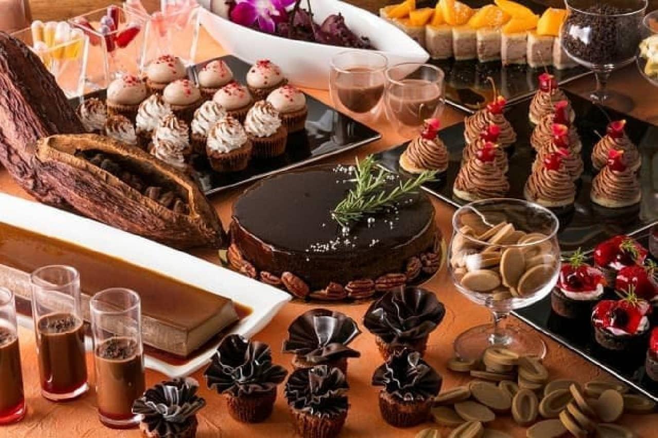 ヒルトン小田原リゾート&スパ「チョコレートの森から Sweets Wonderland」