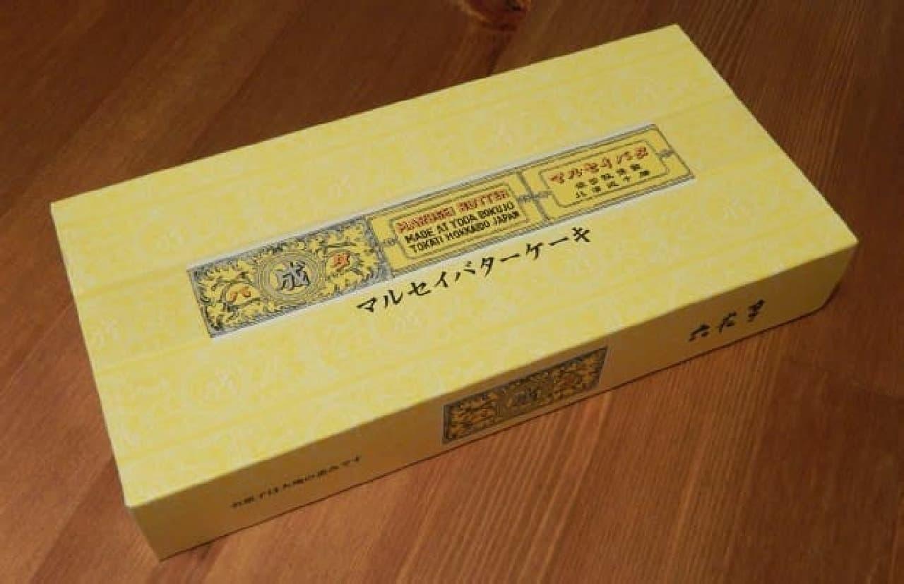 六花亭「マルセイバターケーキ」