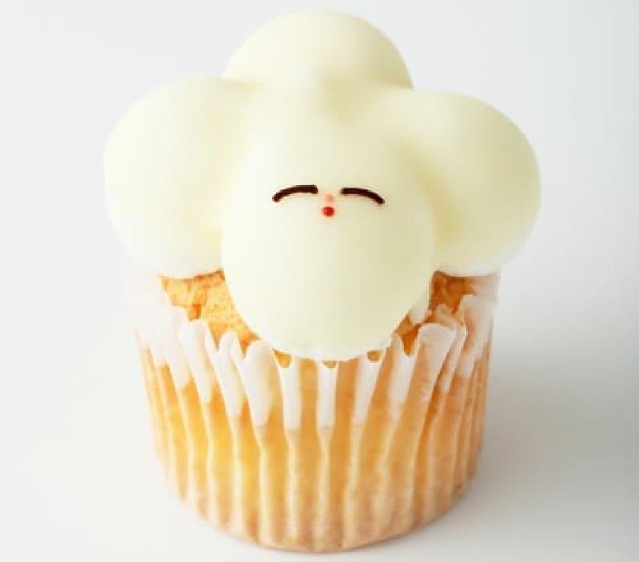 Fairycake Fairグランスタ店限定「ふくらむちゃん」のフレッシュカップケーキ