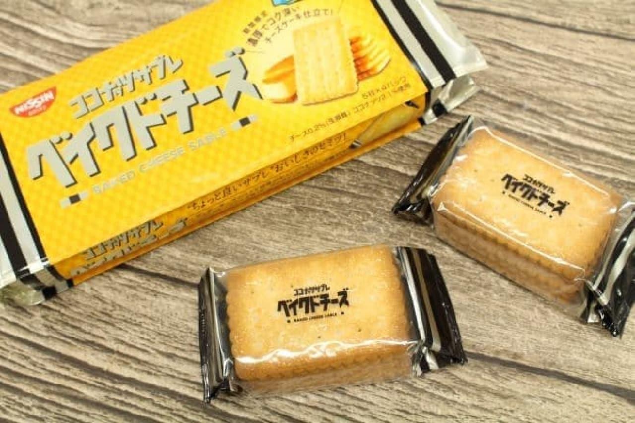 日清シスコ「ココナッツサブレ <ベイクドチーズ>」