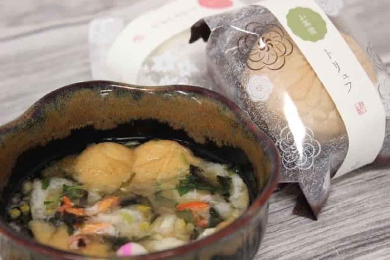 麻布十番にある「花一会」のフリーズドライスープ