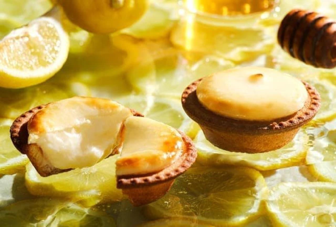 BAKE CHEESE TART「はちみつがけレモンチーズタルト」
