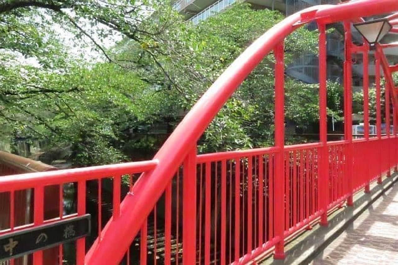 目黒川にかかる中の橋