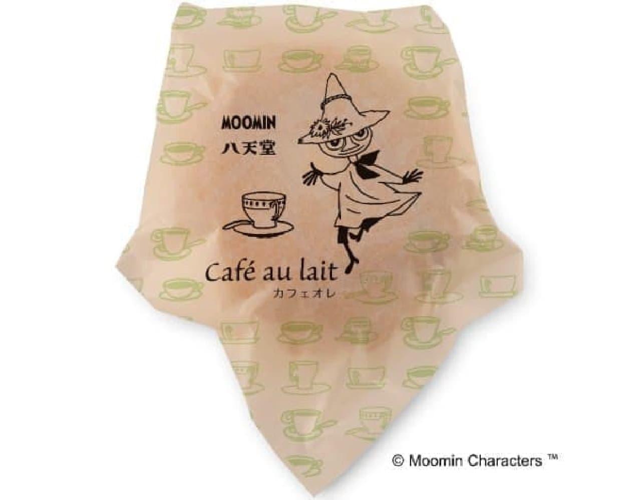 八天堂「ムーミン カフェオレくりーむパン」