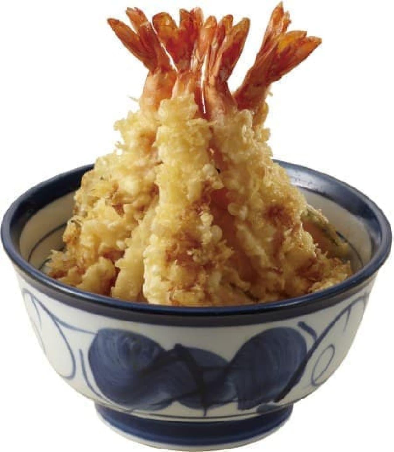 天丼てんや 東京ソラマチ店限定「海老ツリー天丼」