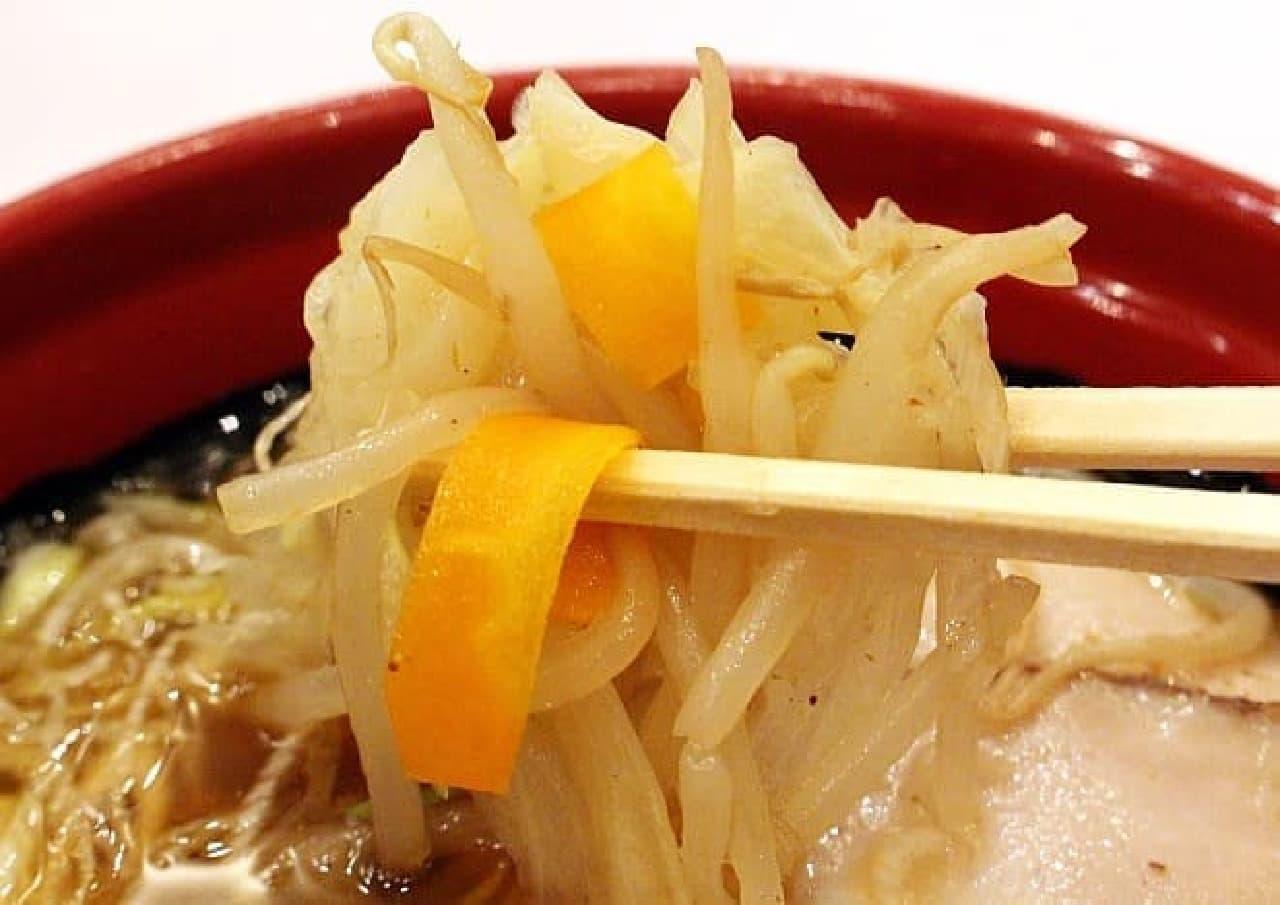 くら寿司「7種の魚介らーめん 麺抜き 醤油」