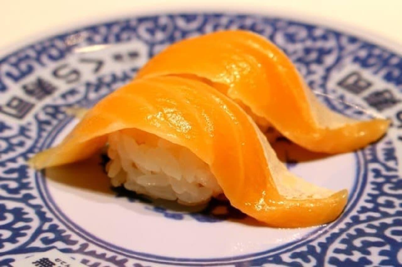 くら寿司「シャリプチ とろサーモン」
