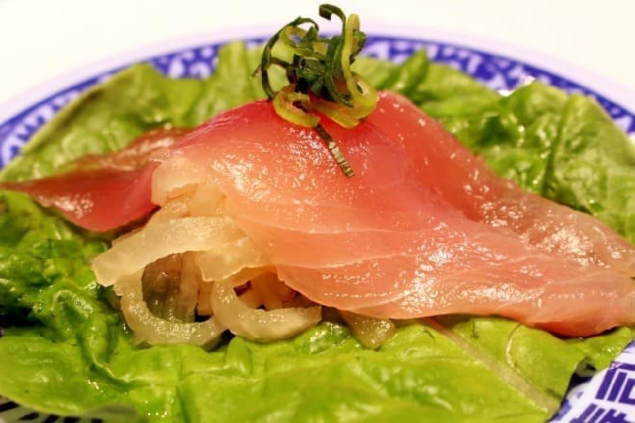 くら寿司「シャリ野菜 ビントロ」