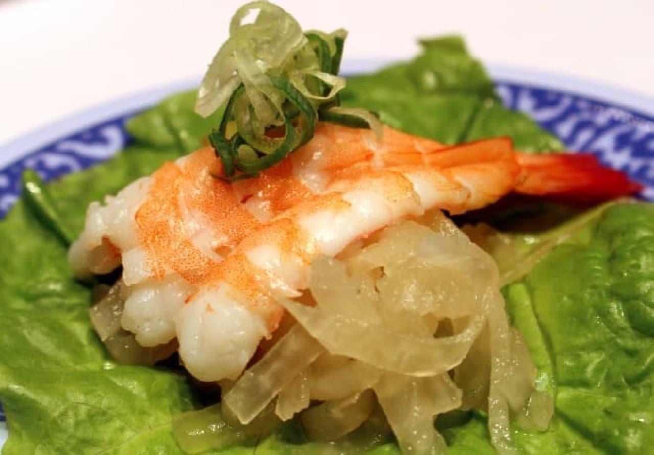 くら寿司「シャリ野菜 えび」