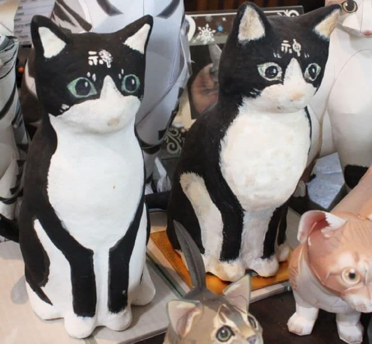 「Cafe de 黒猫舎」の猫神さま